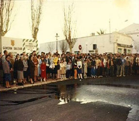 Water supplying exhibition 1986
